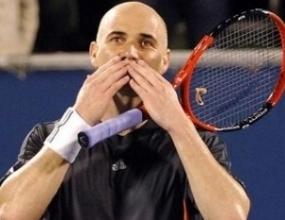 Звездите на тениса: Агаси промени тениса