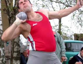 Галин Костадинов 25-и в тласкането на гюле на Евро 2006