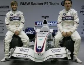 БМВ-Заубер също представи новата си кола