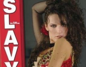 """Нели от """"Туистър"""" изгря на корицата на SLAVY Magazine"""