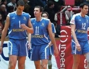 Левски Сиконко загуби първия гейм в Италия