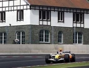 Ковалайнен разкри първите си впечатления от пистата в Белгия