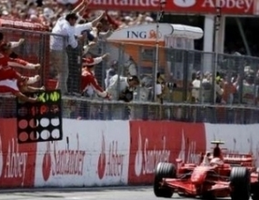 """Райконен """"отвя"""" Макларън в домашното им Гран при"""