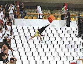 УЕФА отложи наказанието за Партизан