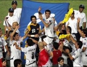 Гаф в Дубай помрачи празнествата на Ирак за триумфа в Купата на Азия