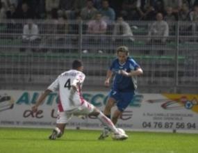 Христо Янев игра 26 минути за Гренобъл