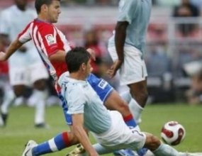 Атлетико (М) надви Лацио на турнира в Амстердам