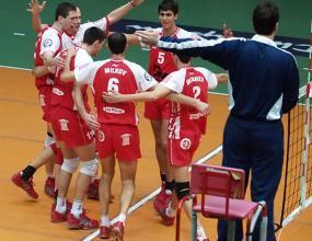 Лесна победа за волейболистите на ЦСКА в Каварна