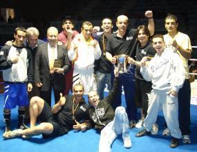 Наш треньор стана шампион на Испания по бокс