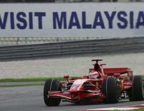 Ферари без технически проблеми в Малайзия