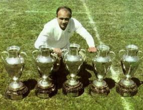 Избраха Ди Стефано за най-велик в историята на Реал