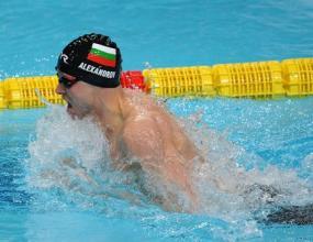Мишо Александров с национален рекорд на 200 метра съчетано
