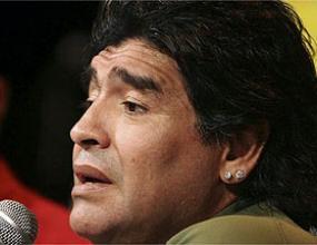 Марадона: Сърцето ми е с Испания на Евро 2008
