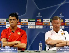 Фърги: Роналдо остава, стига с игричките на Реал