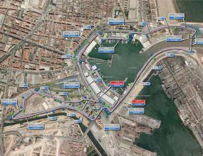 Тестват пистата във Валенсия този месец