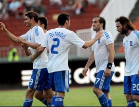 Европейският шампион Гърция пристигна в щабквартирата си в Залцбург