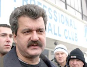 Шефовете на Левски дойдоха за мача с чехите