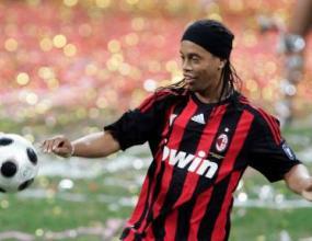 Роналдиньо с първи гол за Милан