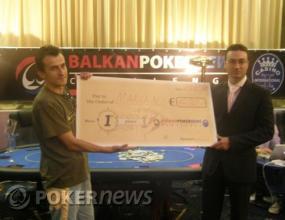 Mариян Каралийски спечели основното събитие от Balkan PokerNews Challenge