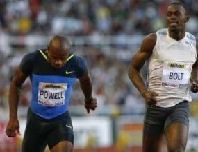 Пауъл победи Болт на 100 метра, Роблес се размина със световен рекорд