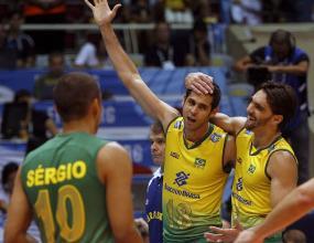 Бразилия отнесе Русия с 3:0 на финалите на Световната лига в Рио