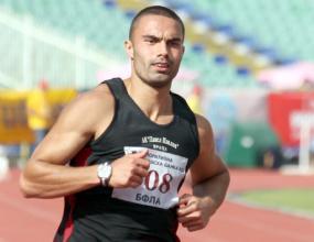 Десислав Гунев не успя да премине квалификациите на 100 м