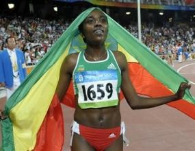 Дибаба взе златото на 10 000 м с олимпийски рекорд