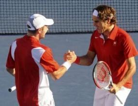 Федерер с шанс за златото на двойки
