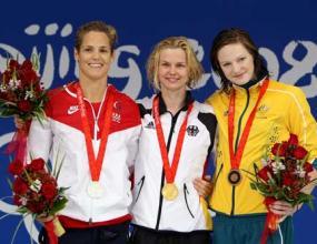 Брита Щефен спечели спринта с олимпийски рекорд