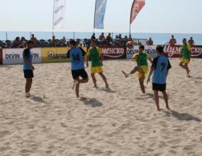 Еврофутбол регистрира над 70 заявки за турнира по плажен футбол