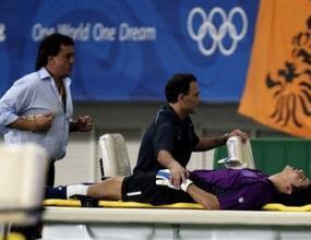 Олимпийският отбор на Аржентина загуби титулярния си вратар