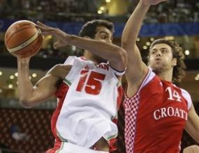 Хърватия разби Иран с 34 точки