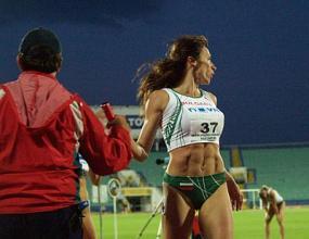 Цвети Кирилова в по-силния полуфинал на 400 м/пр