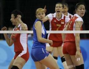 Олимпийският шампион Китай отстрани световния първенец Русия с 3:0