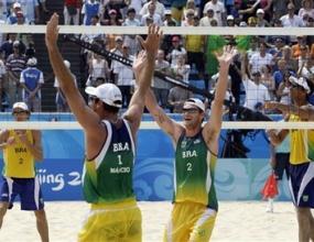 Американци и бразилци в спор за златото на плажния волейбол