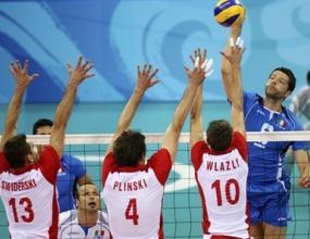 Италия на полуфинал след драма срещу Полша, Златанов резерва