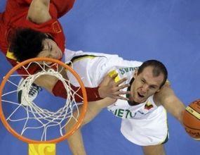 Литва изхвърли Китай от Олимпиадата