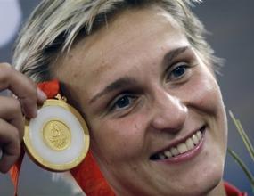 Шпотакова грабна златото на копие с брилянтен последен опит и европейски рекорд