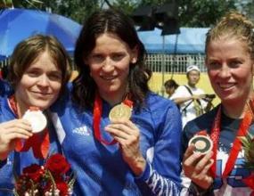 Ан-Каролин Шосон е шампионка по колоездене BMX