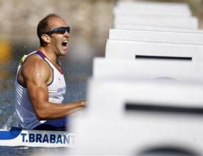 Тим Брабантс спечели златен медал в едноместен каяк на 1000 метра
