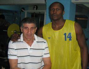 Марин Яцински тренира Балкан преди началото на подготовката