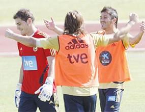 Серхио Рамос тормозен от мускулни проблеми