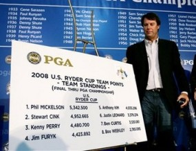 Ейзингър обяви състава на САЩ за Ryder Cup