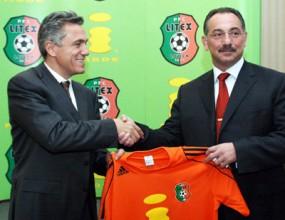 Ангел Бончев с националите в Черна гора