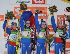 Русия спечели щафетата 4 по 6 км при жените, България зае 18-о място