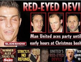 Бербатов примерен на пиянско парти на Юнайтед