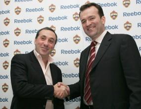 ЦСКА Москва подписа договор за спонсорство с Рийбок