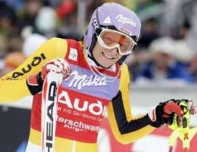 Мария Рийш спечели малката купа в слалома