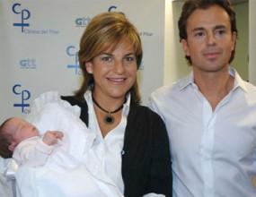 Аранча Санчес-Викарио показа бебето си