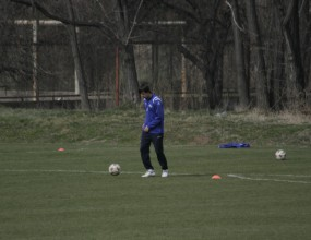 Тасевски готов за мача с Ботев